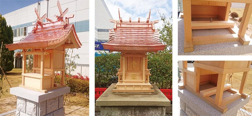 画像:屋外社殿(お社・外宮)